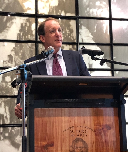 AJ Brown delivers the 2019 Henry Parkes Oration